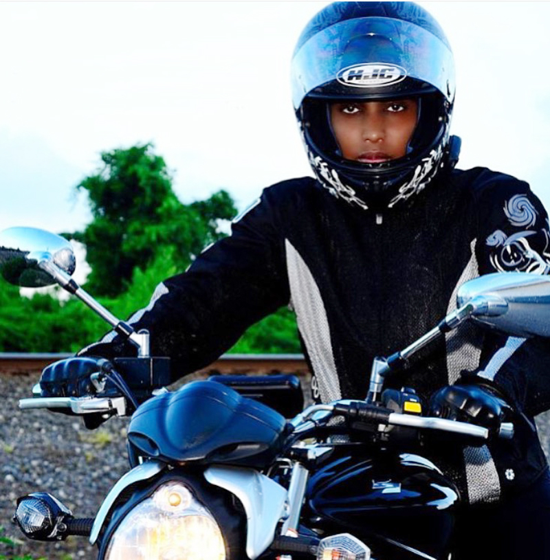 nothing stopped her from becoming a motorcycle rider fatima gaskin sportbike