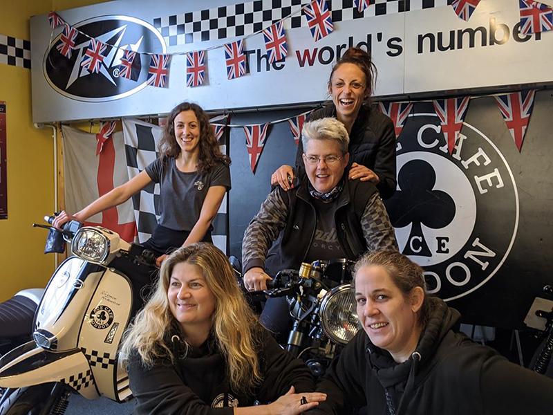 WRWR Final Update London Ace Cafe liza miller