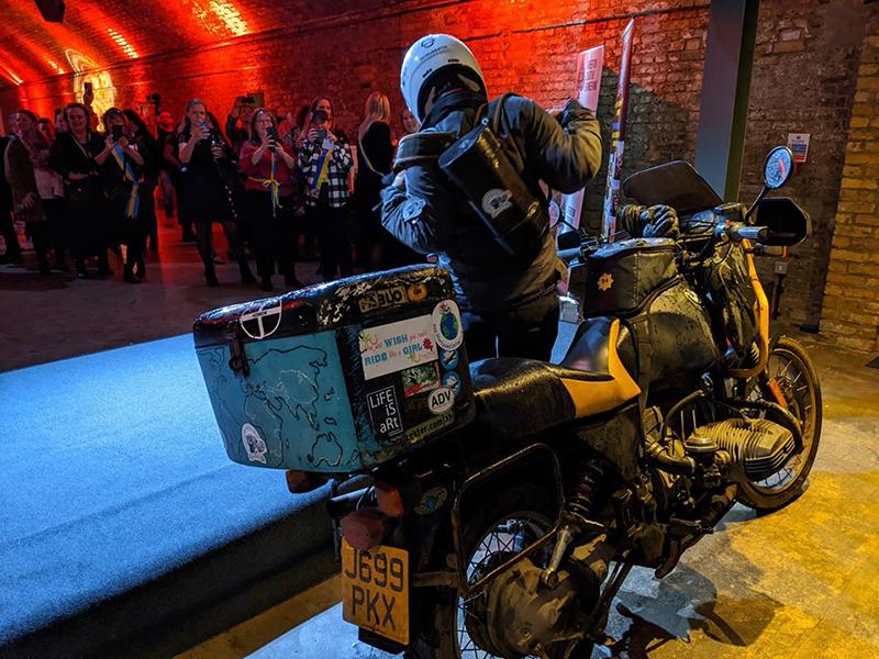 WRWR Final Update London Bike Shed