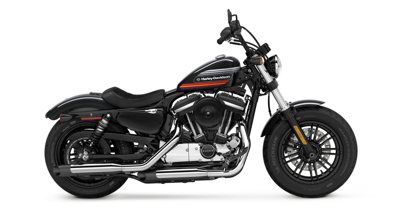 Retro Styling Harley-Davidson's New Sportsters Forty-Eight Special Iron 1200 Black Profile
