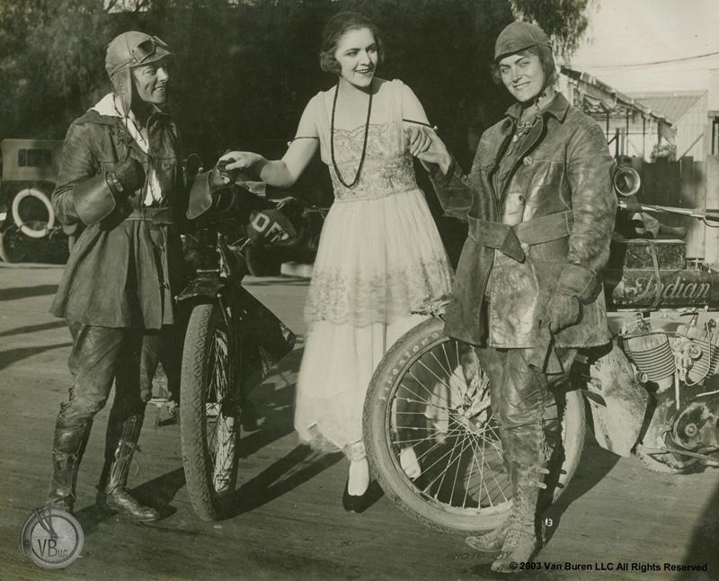 van buren sisters 1916 cross country motorcycle ride for womens rights