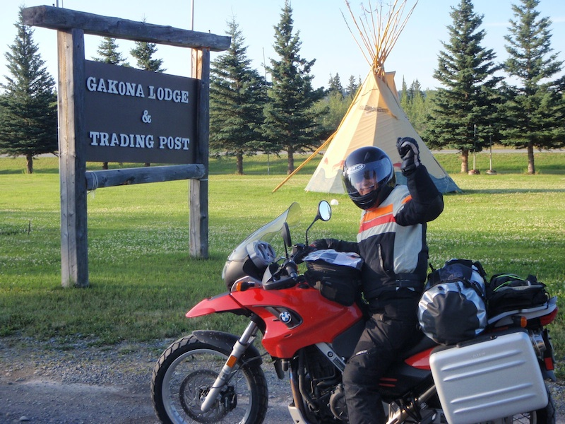 Reader story how one woman rider inspired another to ride Gakona lodge tipi