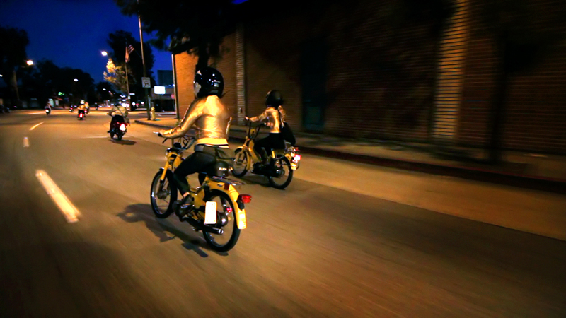 the gaskettes review riding mopeds