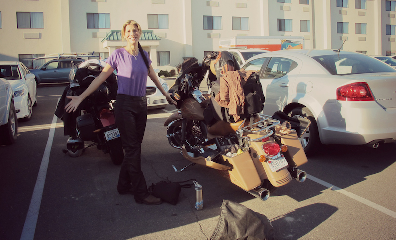 motorcycle trip packing tips