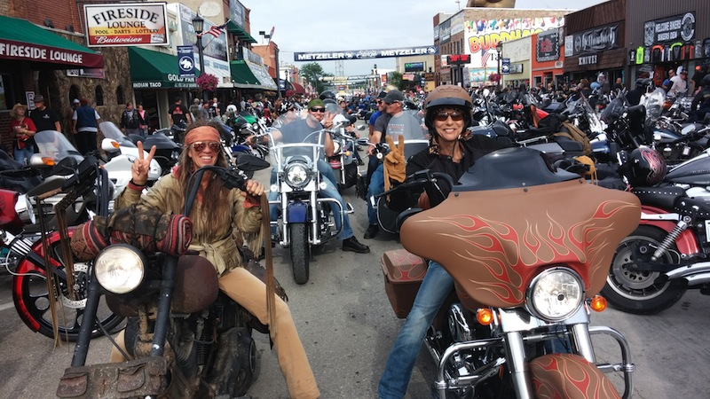 74th Annual Sturgis Motorcycle Rally Betsy Genevieve