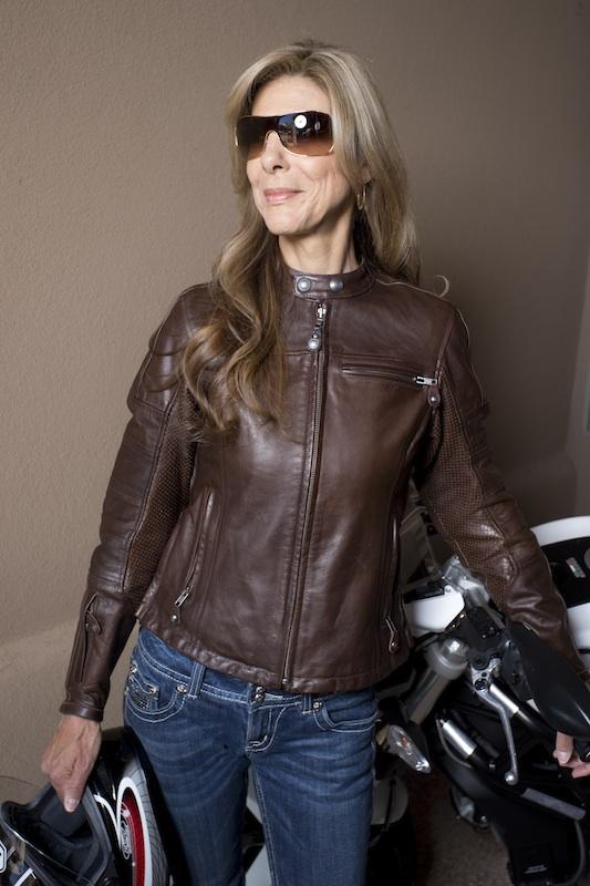 clothing review roland sands design maven leather jacket front view