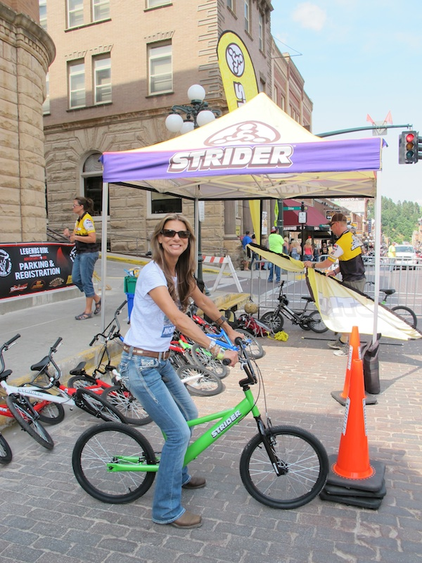 Two Wheels for Folks with Special Needs Strider Genevieve Schmitt