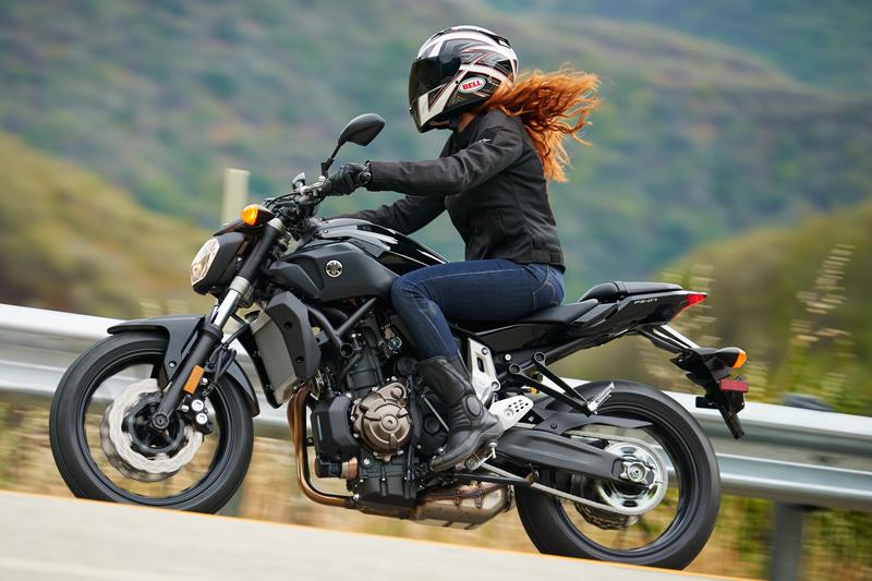 motorcycle review 2016 yamaha fz-07 woman rider