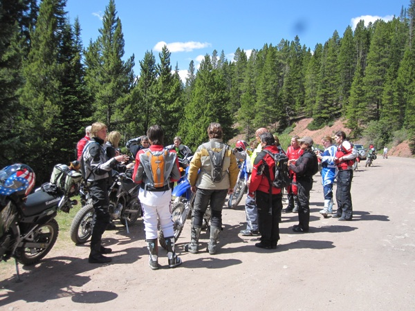 are you having fun riding in a group rider meeting