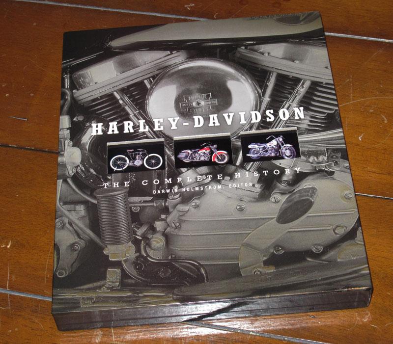 harley davidson coffee table style books complete history