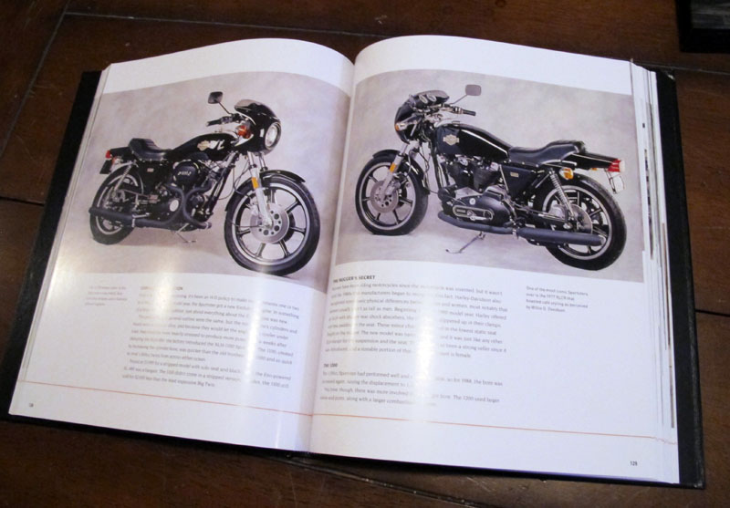 harley davidson coffee table style books complete history inside