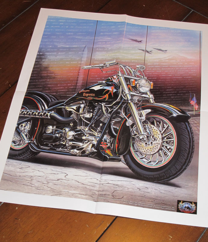 harley davidson coffee table style books poster