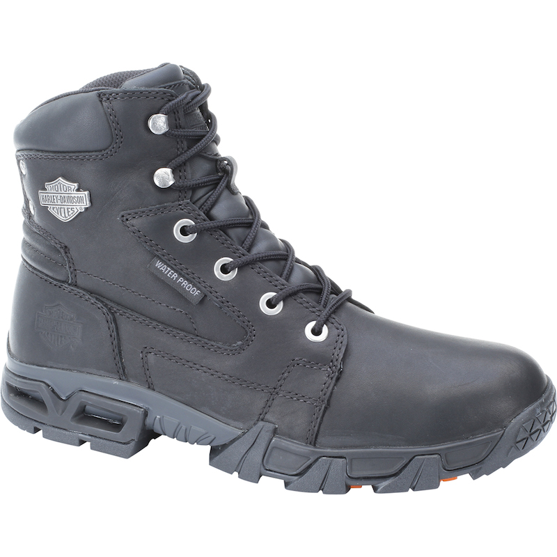waterproof leather boots harley davidson andy
