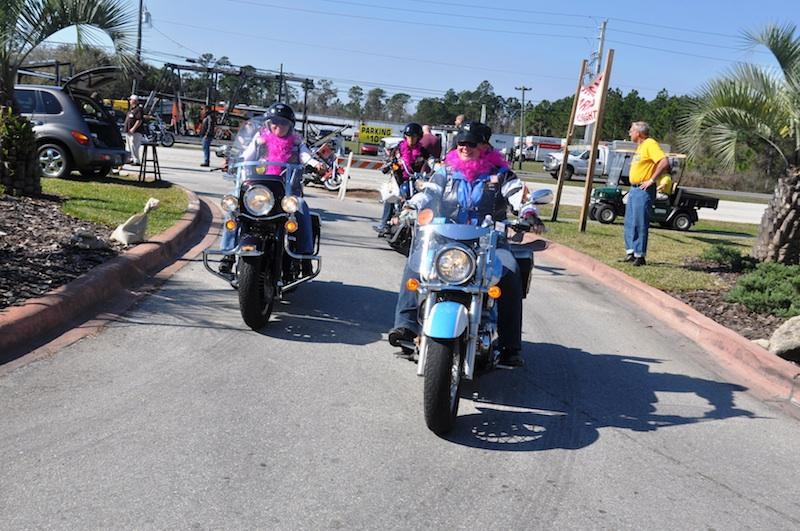 harley davidson MDA womens ride daytona beach speedway