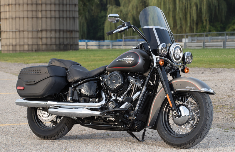 review 2018 harley-davidson softails the heritage classic