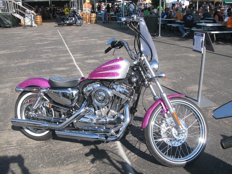Pink Motorcycles Harley-Davidson Pink Metal Flake