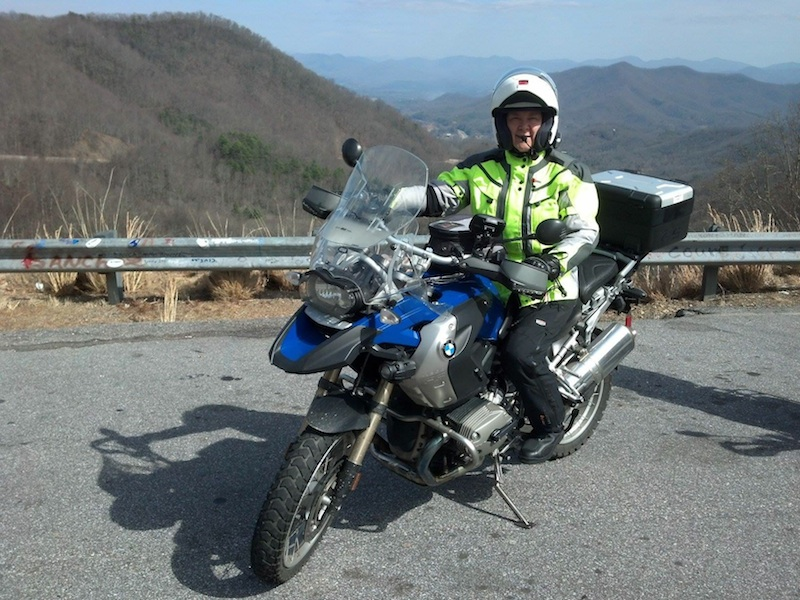 Reader review TCX Infinity GTX boot BMW motorcycle woman