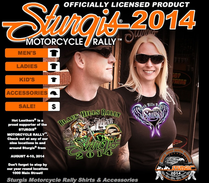 74th Annual Sturgis Motorcycle Rally t-shirts