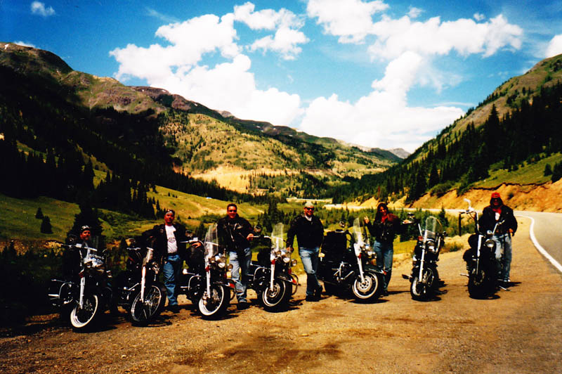 4 Bucket List Motorcycle Rides in the West million dollar highway motorcycles