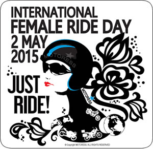 international female ride day is may 2 graphic