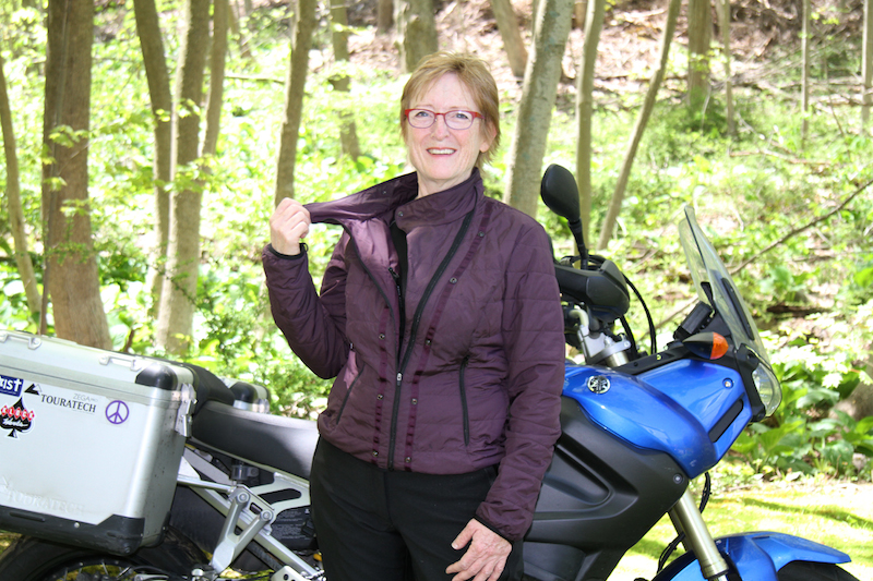 Clothing Review BMW TourShell Jacket liner
