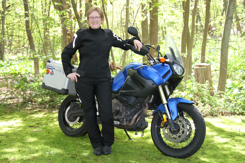 pro touring 2 motorcycle riding boots Liz Jansen