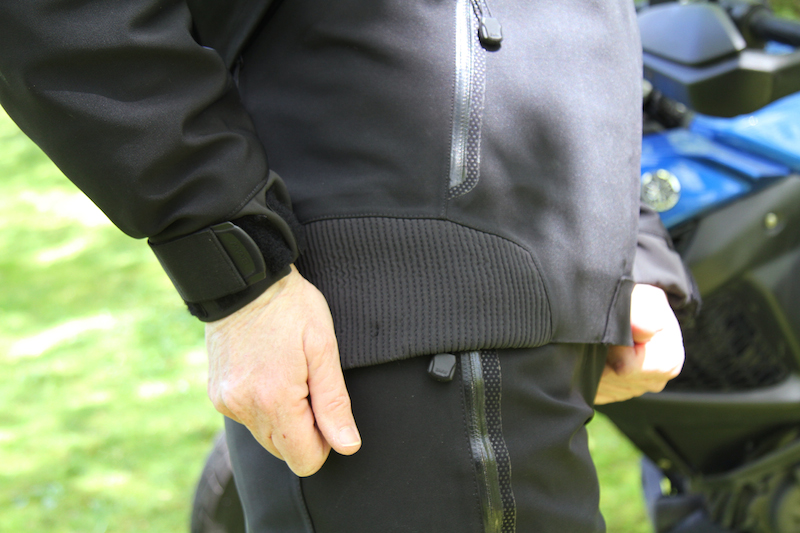 Clothing Review BMW TourShell Jacket and Pants waist