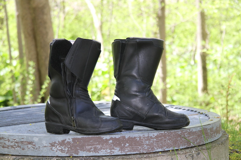 pro touring 2 motorcycle riding boots black