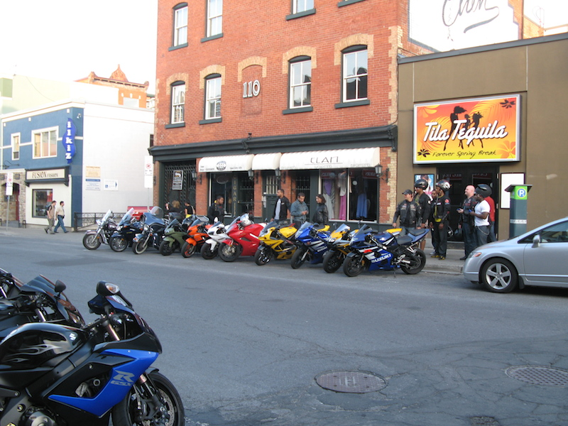 11 things you can do on a motorcycle you cant do in a car parking