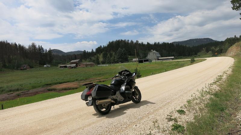 Sturgis Motorcycle Rally Virgins dirt road