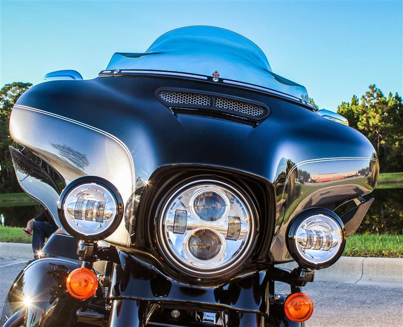 Custom Vent Screens for Harley Davidson Touring Models