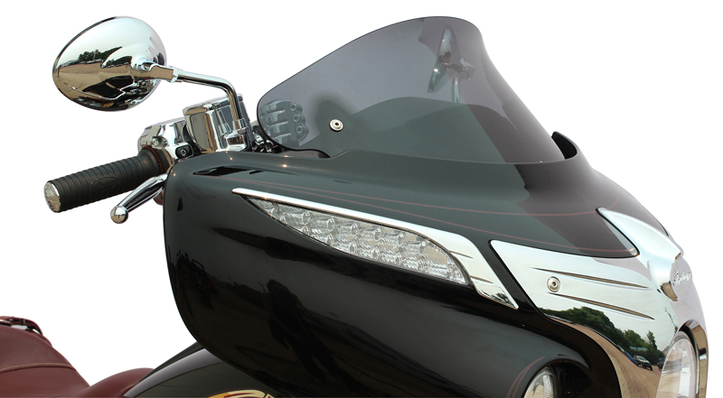 flare windshield now available for Indian and Honda Tourers Gold Wing Chieftan