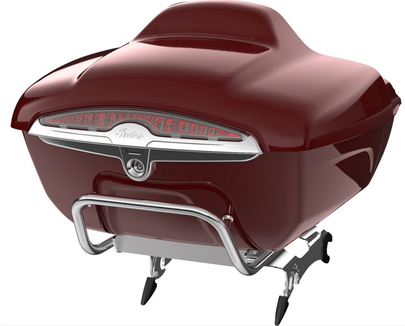 review 2016 2017 indian motorcycle springfield trunk