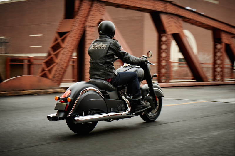Indian Motorcycle Introduces the Dark Horse Riding