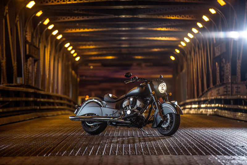 Indian Motorcycle Introduces the Chief Dark Horse black