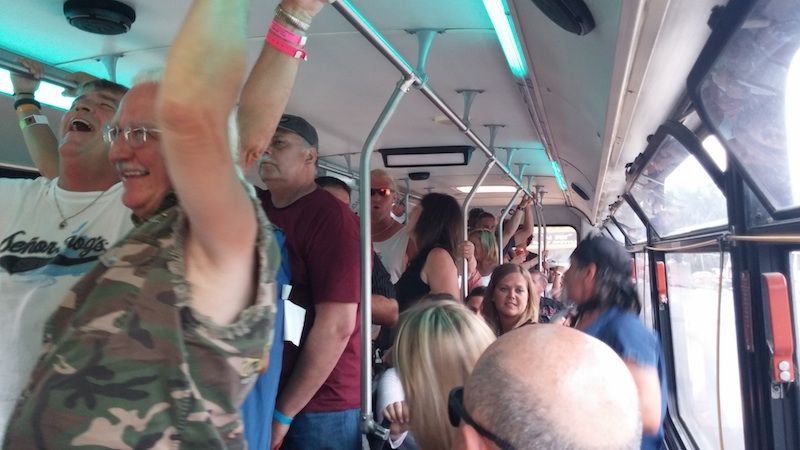74th Annual Sturgis Motorcycle Rally inside Da Bus