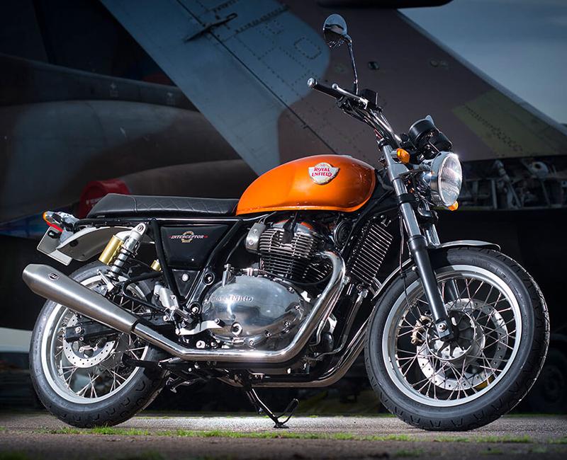2018 new motorcycles Royal Enfield Interceptor Profile