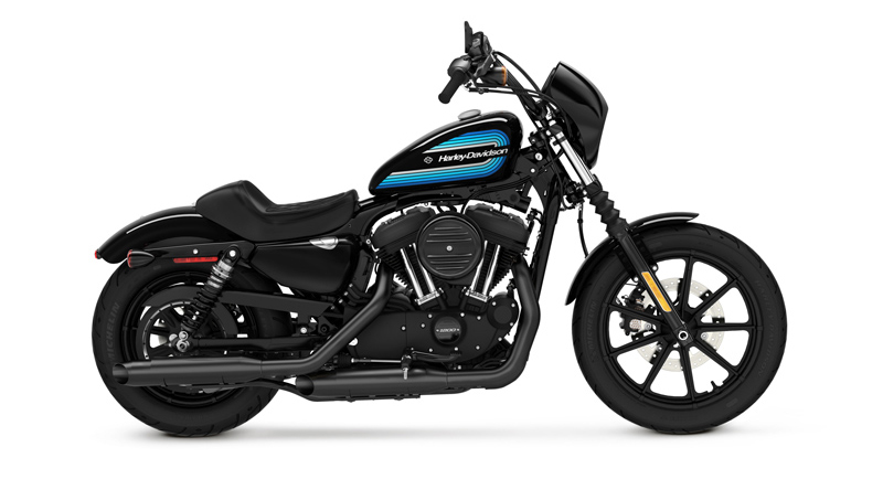 Retro Styling Harley-Davidson's New Sportsters Forty-Eight Special Iron 1200 Side Profile