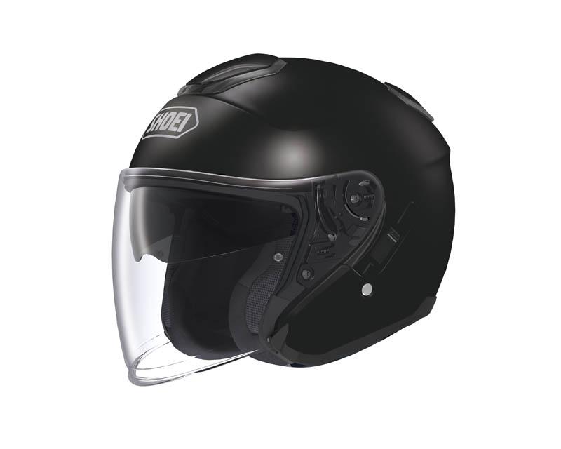 review shoei j cruise open face helmet black