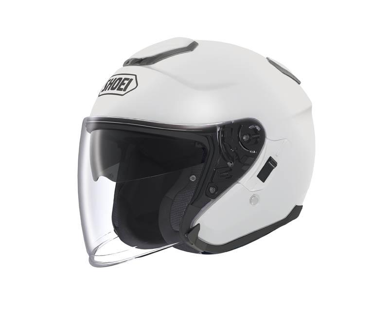 review shoei j cruise open face helmet white