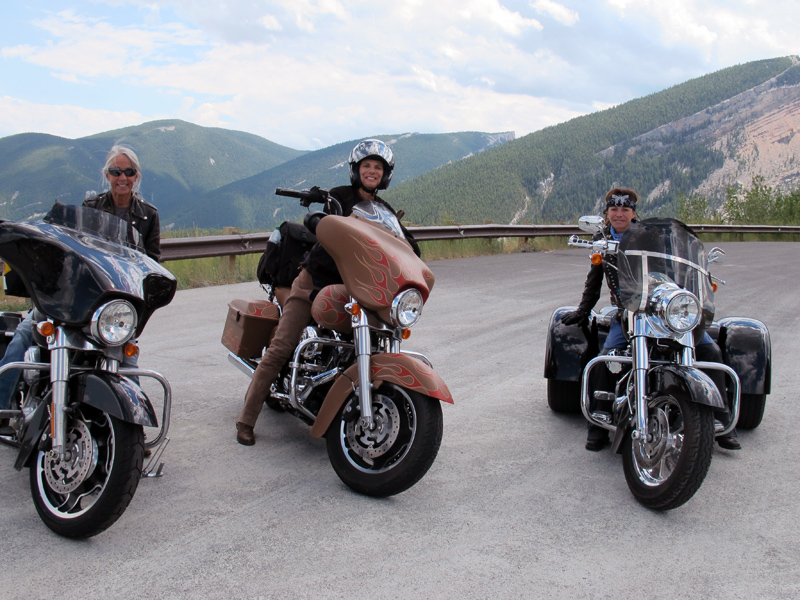 74th Annual Sturgis Motorcycle Rally big horn mountains riders
