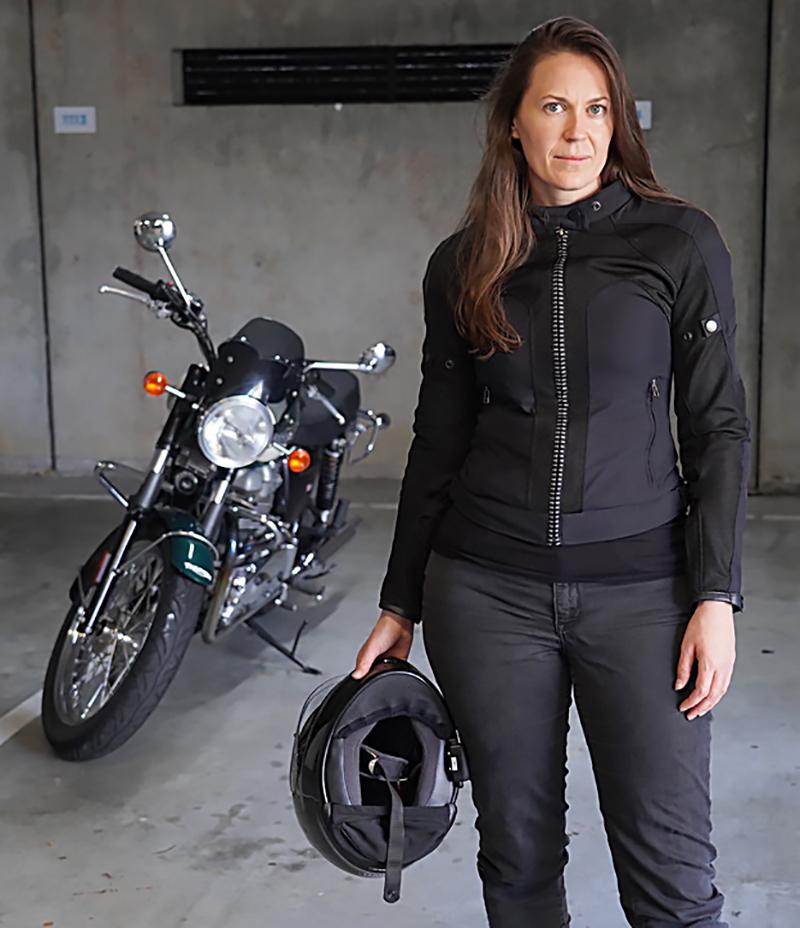 hightail bike hair protector eliminates tangles wind damage jen