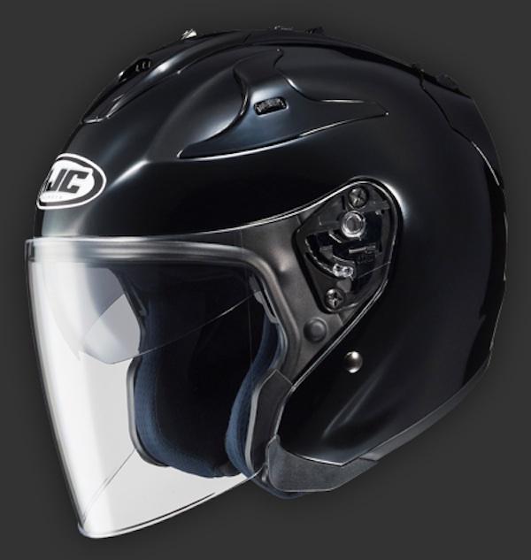 Helmet review HJC FG-Jet black