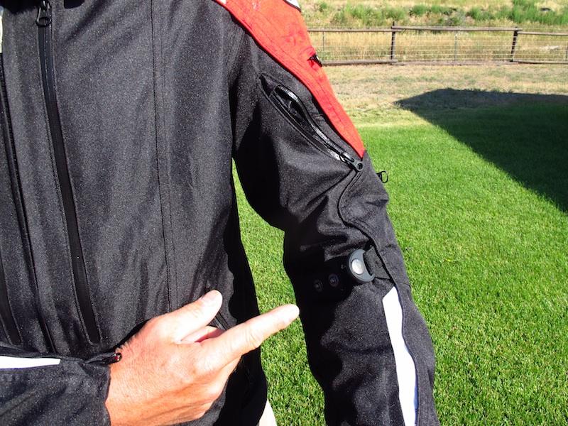 Jacket Review Joe Rocket Atomic 4.0 Sleeve adjuster