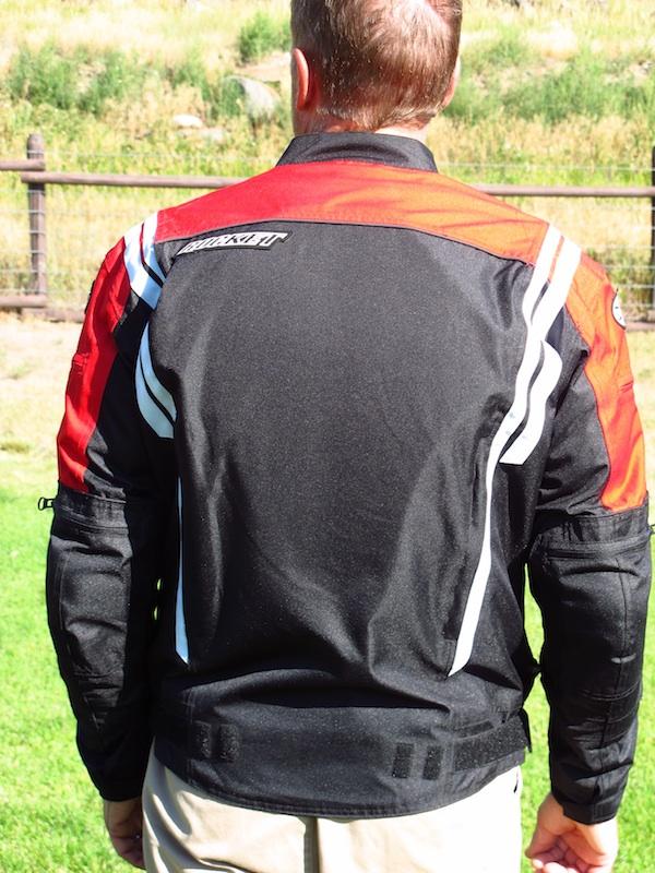 Jacket Review Joe Rocket Atomic 4.0 Spine Pad