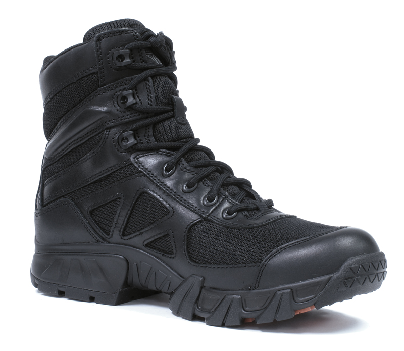 review hiking style waterproof riding boots for women inside profile