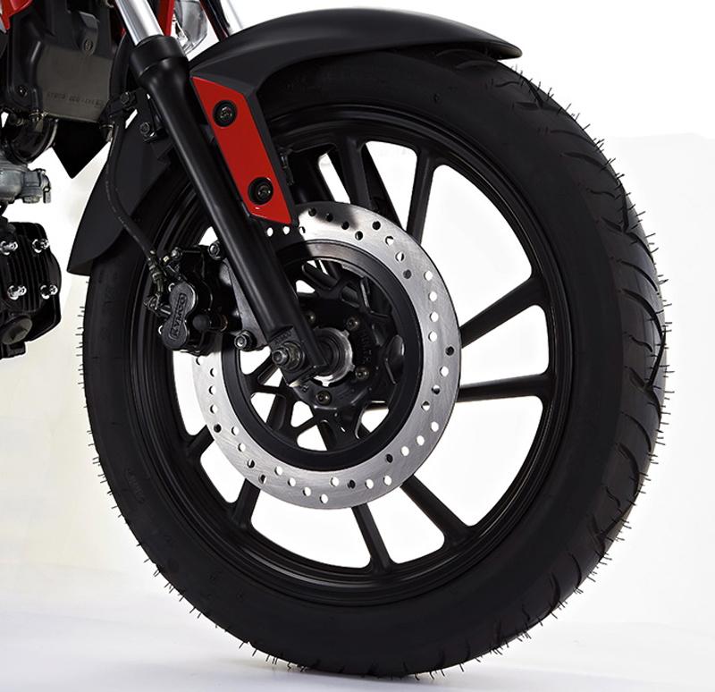 new beginner motorcycle hits the market kymco k pipe brales