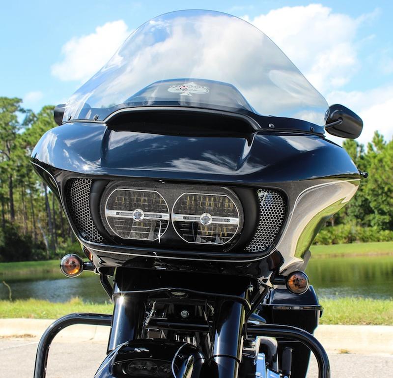 Custom Vent Screens for Harley Davidson Touring Models Road Glide