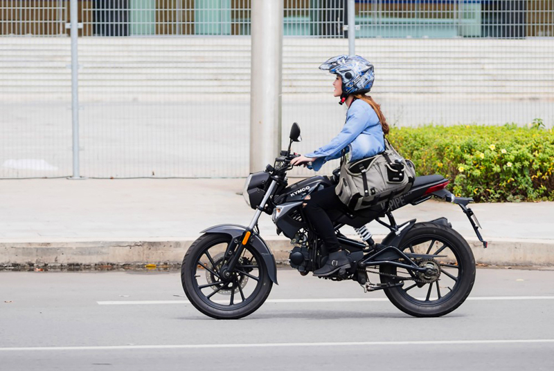 new beginner motorcycle hits the market kymco k pipe