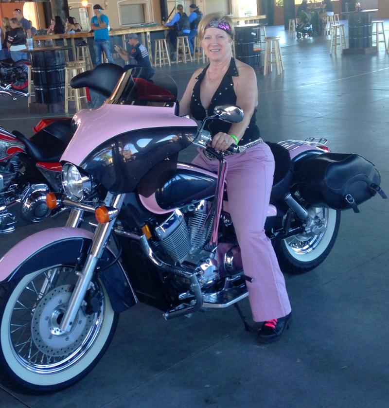 pink motorcycles honda shadow aero